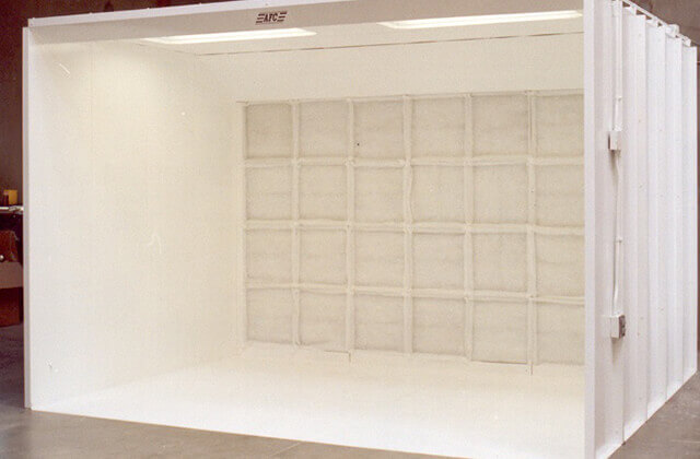 Open Front Spray Booths