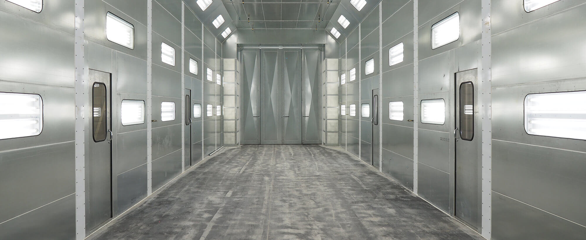 Crossflo Automotive Spray Booth