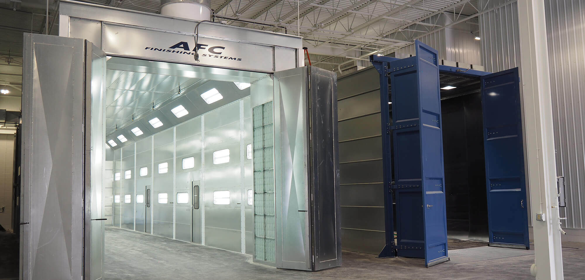 Truck Spray Booths